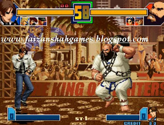 King of fighters 2001 game