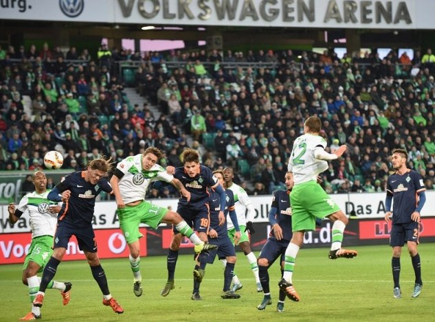 Wolfsburg vs Werder Bremen Score 6-0
