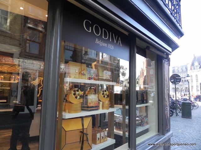A famosa Godiva: perfeição nos chocolates