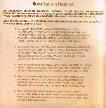 Ikrar Barisan Nasional