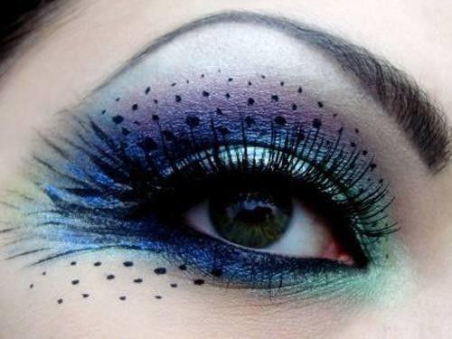 Fun Spooky Stuff and Trivia: Cool Halloween Eye Makeup