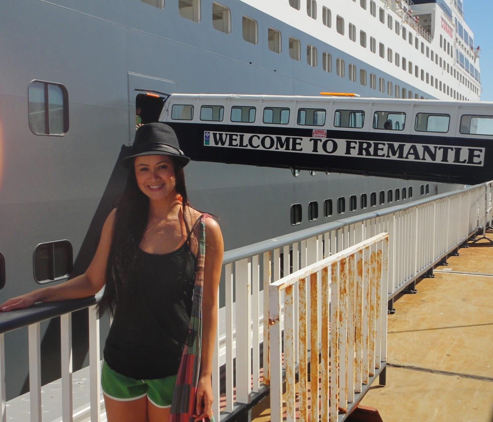 Port: Fremantle, Australia February 8, 2012