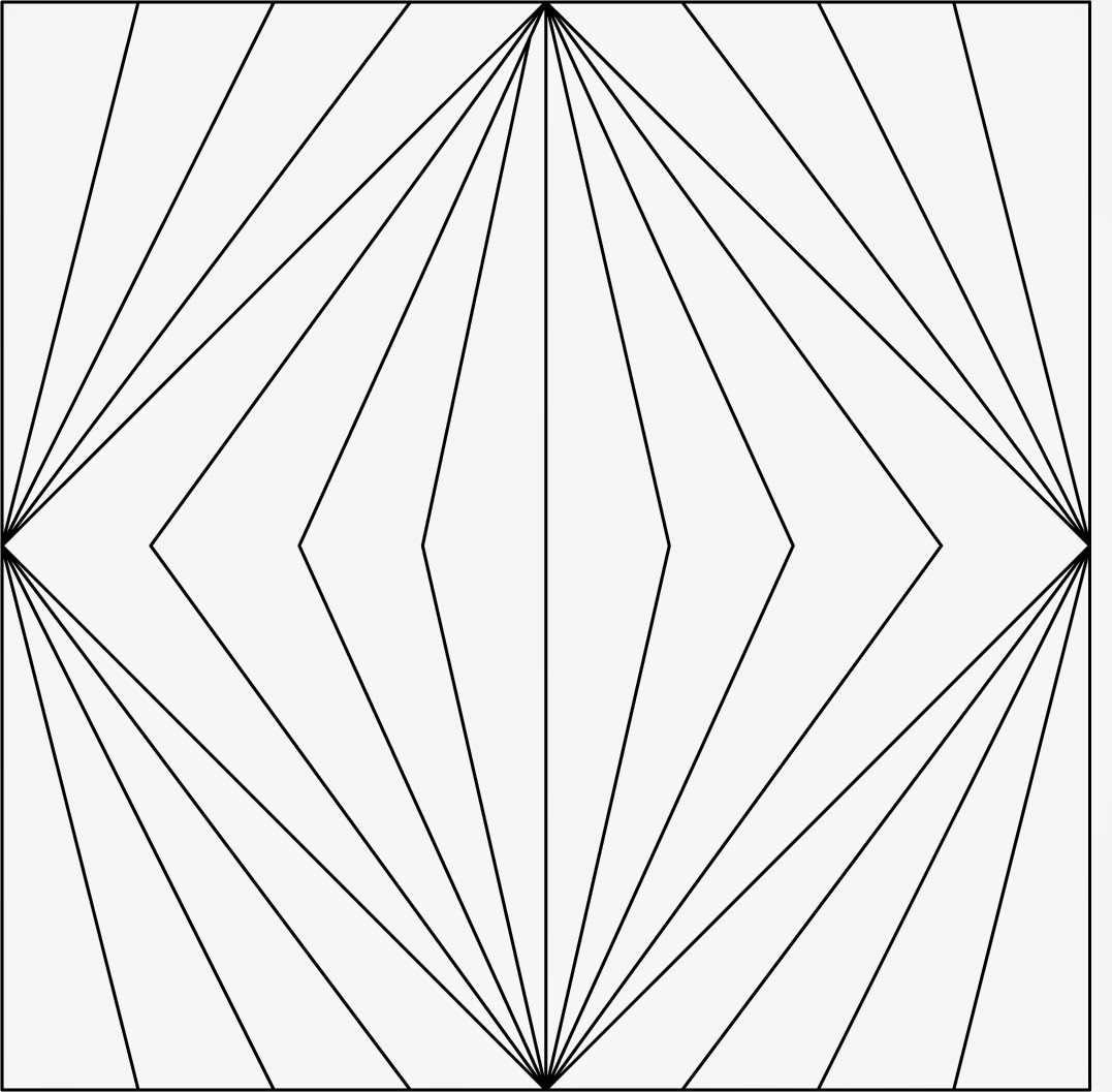 Basic Diamond: Textile Arts Now: Pattern Design Using A Grid Of Squares II