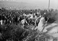 Enterrament de la Sardina.  Acaba el Carnaval i s'inicia la Quaresma