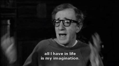 """Todo lo que tengo en la vida es mi imaginación"""""""