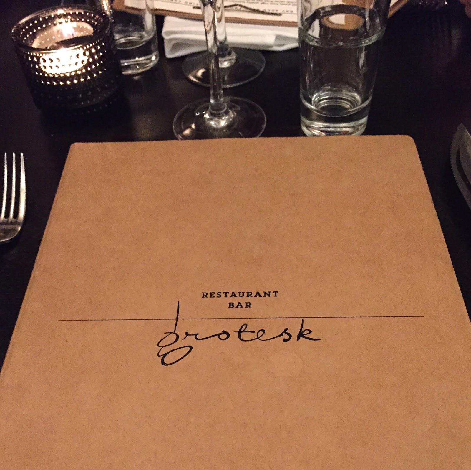 grotesk helsinki, grotesk review helsinki, grotesk menu, grotesk grill bar, grotesk restaurant helsinki
