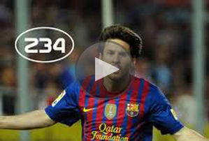 actualite sport Season 1 All the goals Messi with Barcelona