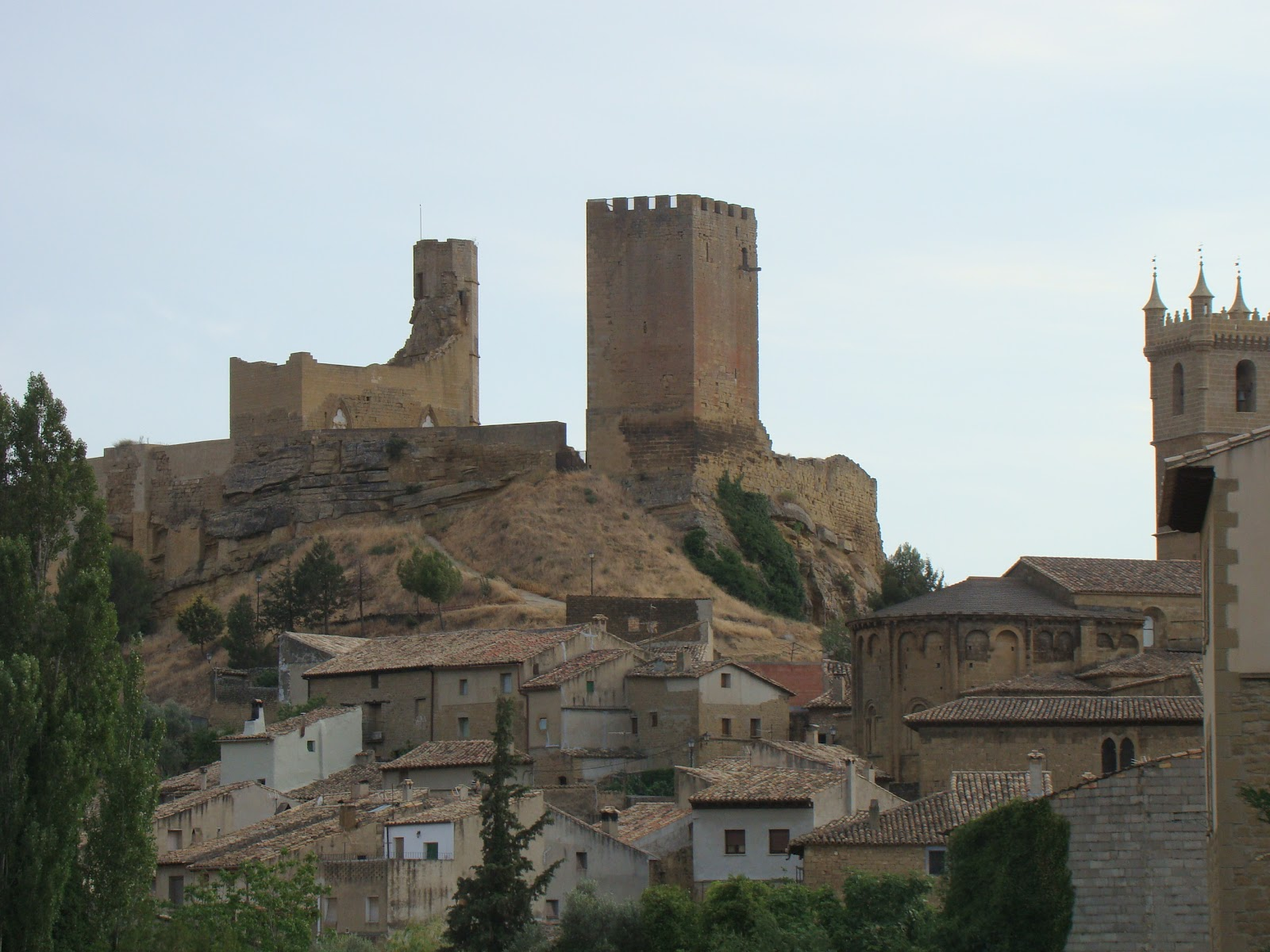 Uncastillo Spain  city photo : Uncastillo .Spain. | Castillos en España | Pinterest