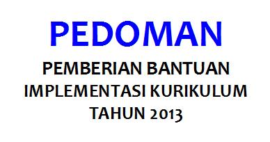Bimtek Implementasi Kurikulum 2013