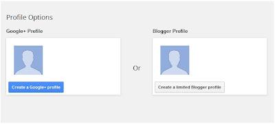 Pilih Profil yang ingin digunakan