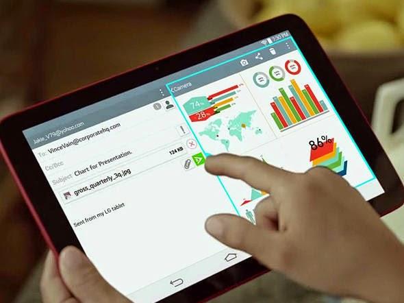 O tablet G Pad 10.1 da LG tem um preço bem em conta