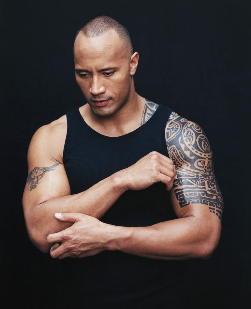 dwayne johnson tatouage signification GALERIE CREATION - Tatouage The Rock Signification