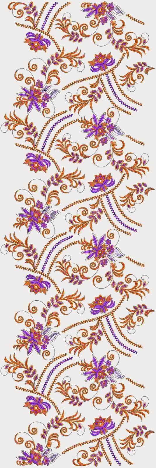 Nuutste borduurwerk masjien Oral patroon
