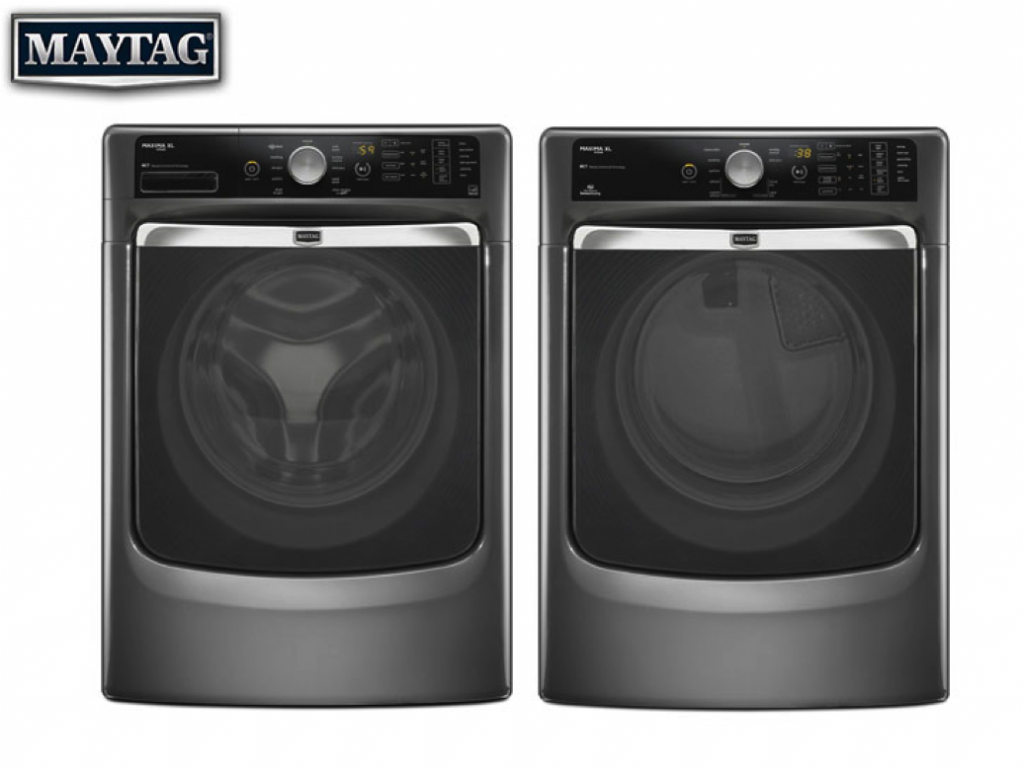 Maytag Washer & Dryer Giveaway. Ends 5/8
