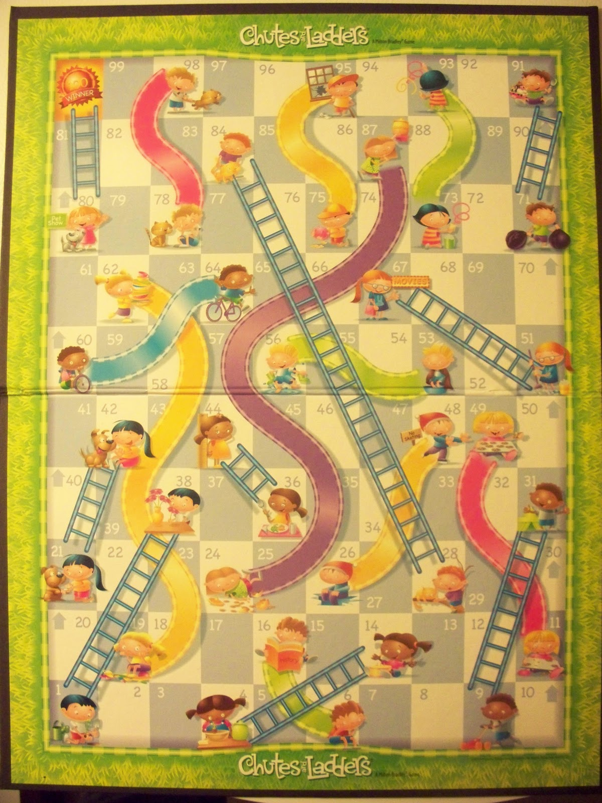 a new leaf the gaming corner chutes and ladders