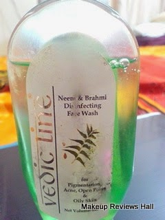Vedic Line Neem Brahmi Face Wash Review
