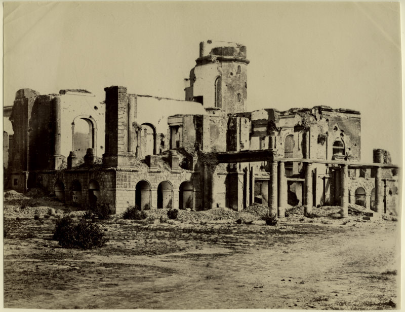 Ruins of Residency, Lucknow - 1880's