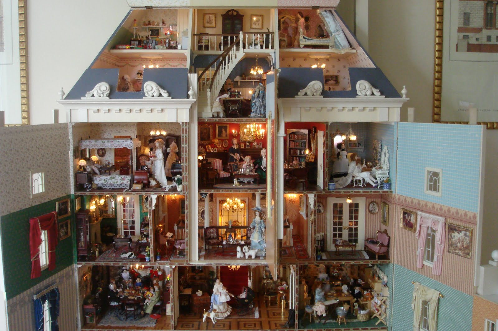 Las minis de belen - Gran casa de munecas playmobil ...