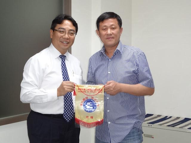 浙江省湖州市高新技術產業園區參訪