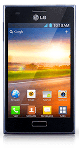 LG Optimus L5 E612 smart phone