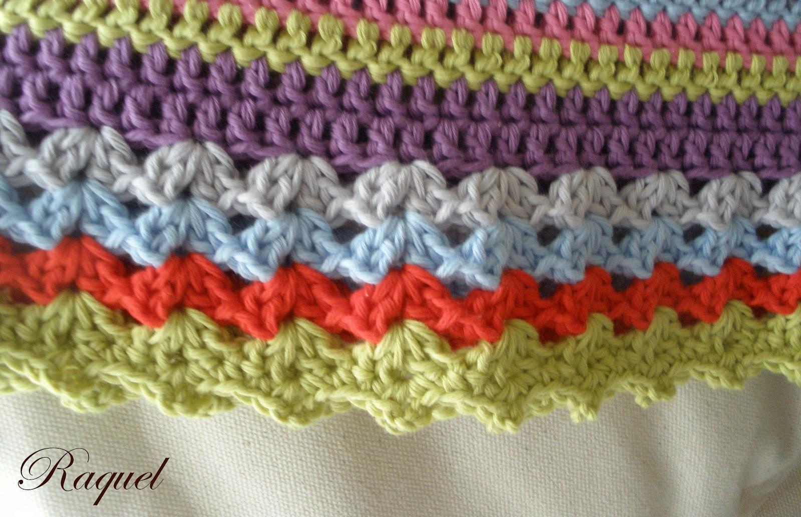 Encantador Patrones De Crochet Manta Ribete Ideas - Ideas de ...
