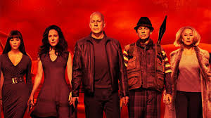 RED 2 movie poster.
