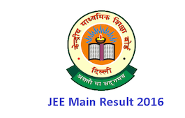 {Result]** Jee Main Result 2016, Jee Main Results 2016 Jee Main Result