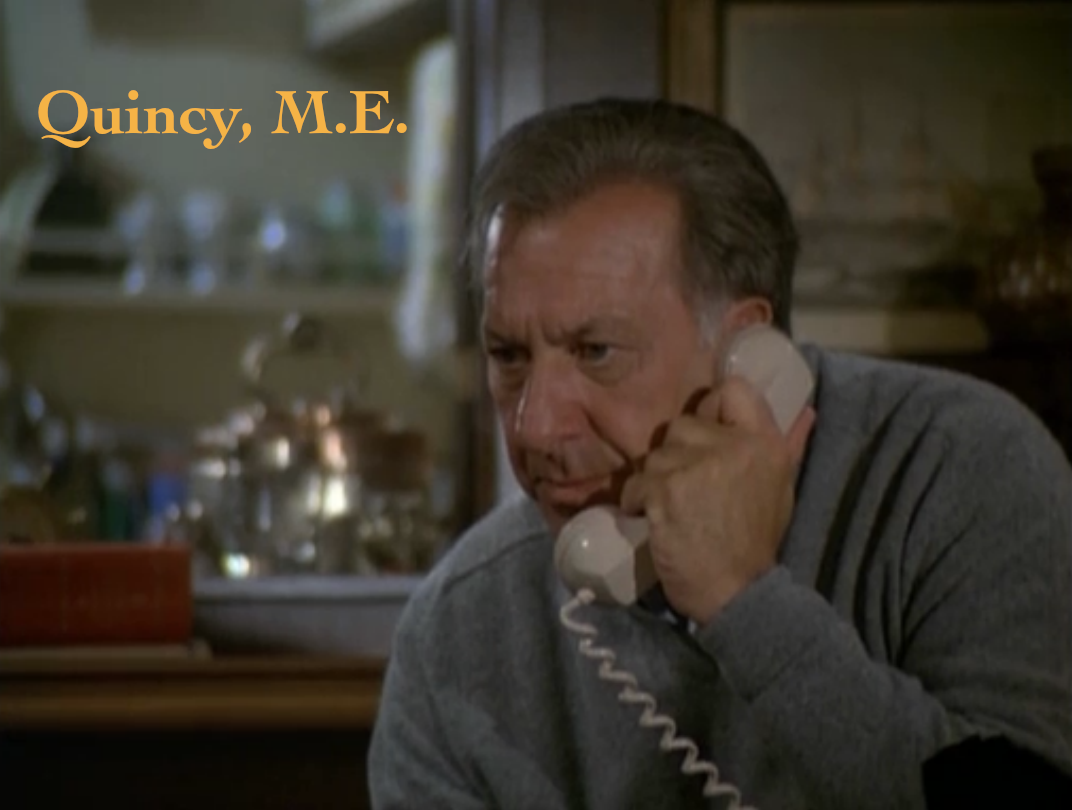 Dear Old Hollywood: Quincy, M.E. - Film Locations ...