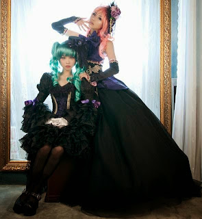 Vocaloid Dragon Howl Miku and Luka Cosplay by Tomia and Tasha