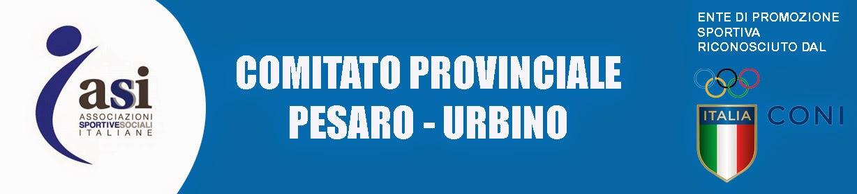 ASI Pesaro Urbino Affiliazione Tesseramento Promozione Sport