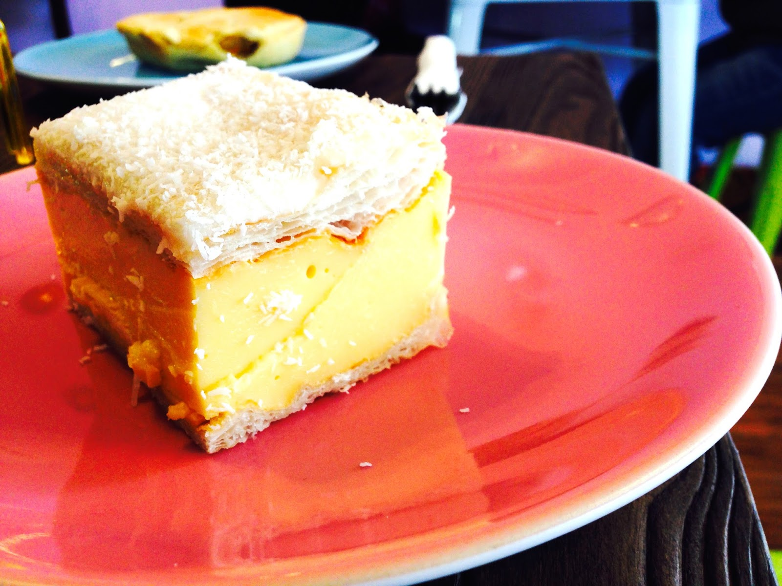 Vanilla Slice - Cherry Darlings Cruelty Free Bakehouse, Adelaide