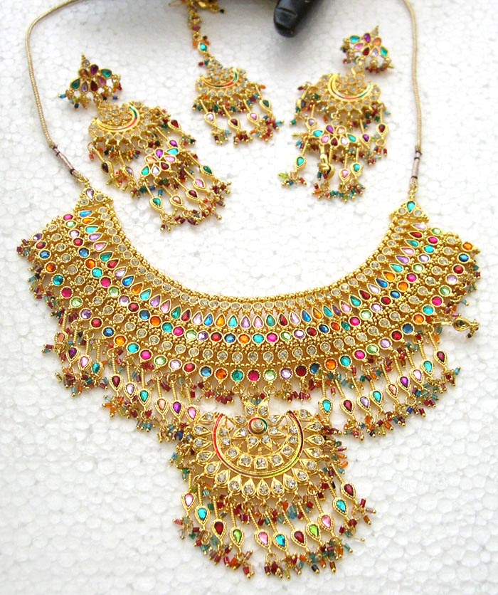 Indian bridal jewellery design