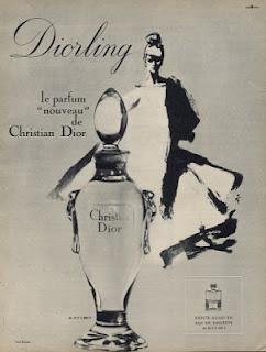 rené gruau affiche publicitaire dior parfum