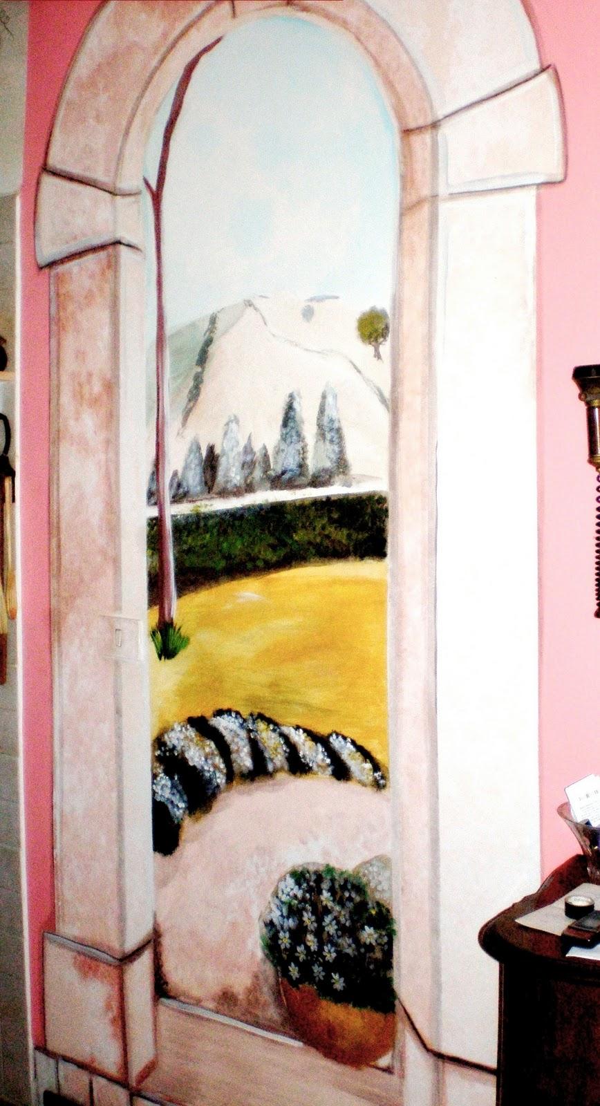 Murgiamirella decorazioni pittura castel madama: decorazioni su pareti