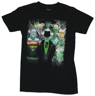 Click here to purchase your Alex Ross Villains t-shirt at Amazon!