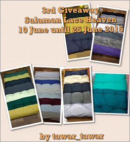 3rd, giveaway, sulaman, lace, heaven