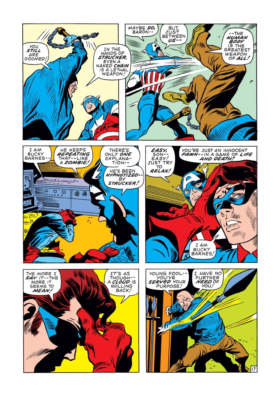 Captain America (1968) Issue #131 #45 - English 17