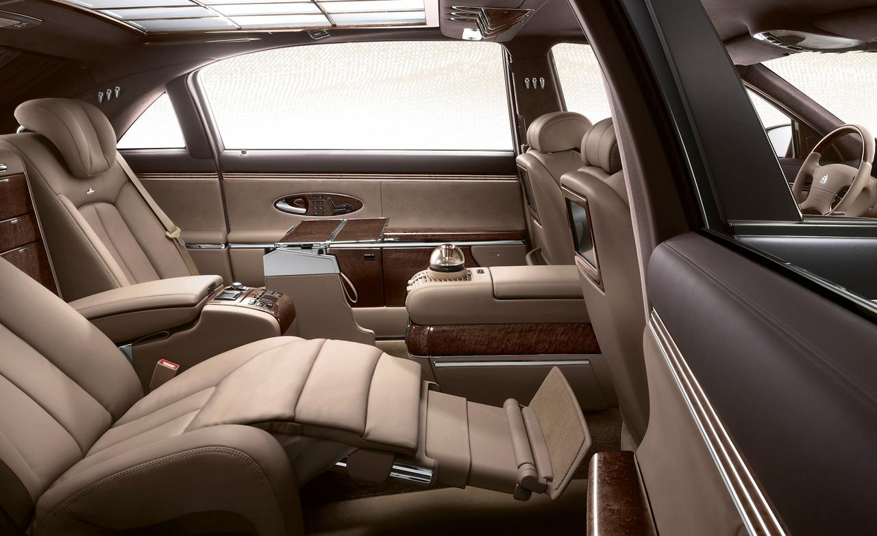 maybach interior car models. Black Bedroom Furniture Sets. Home Design Ideas
