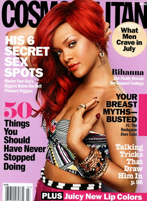 Rihanna Covers COSMO Magazine