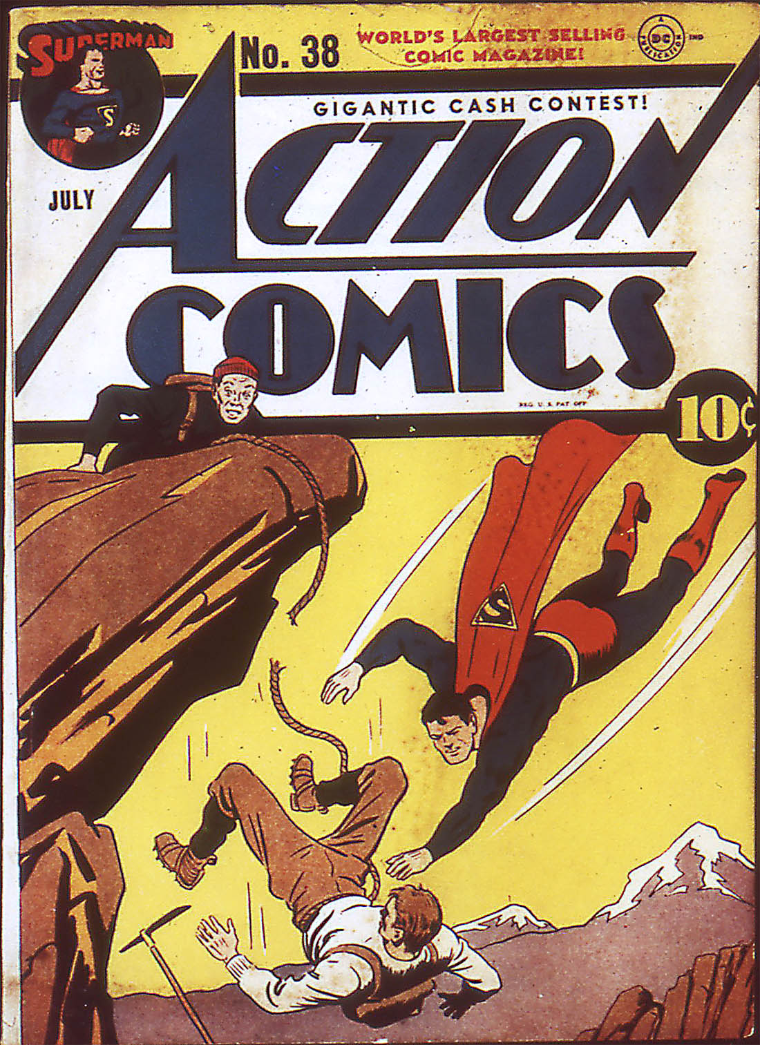 Action Comics (1938) 38 Page 1