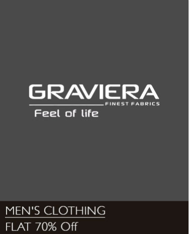 Buy Graviera  Multi Colour Unstitched Shirts & Trousers and get minimum of 70% discount