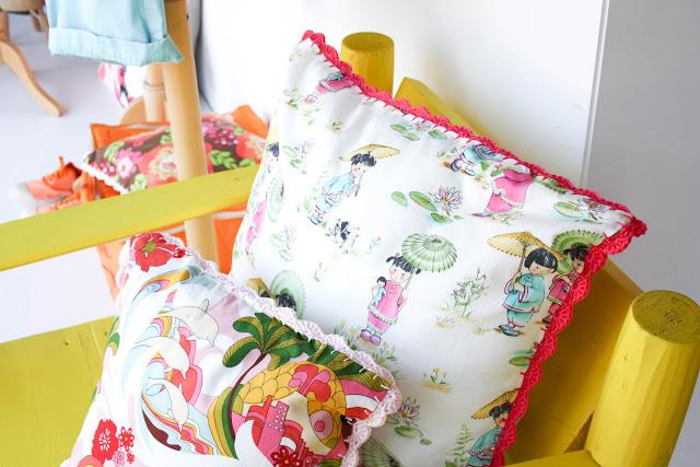 coussin bordure crochet Boutique Hossegor ©lovmint
