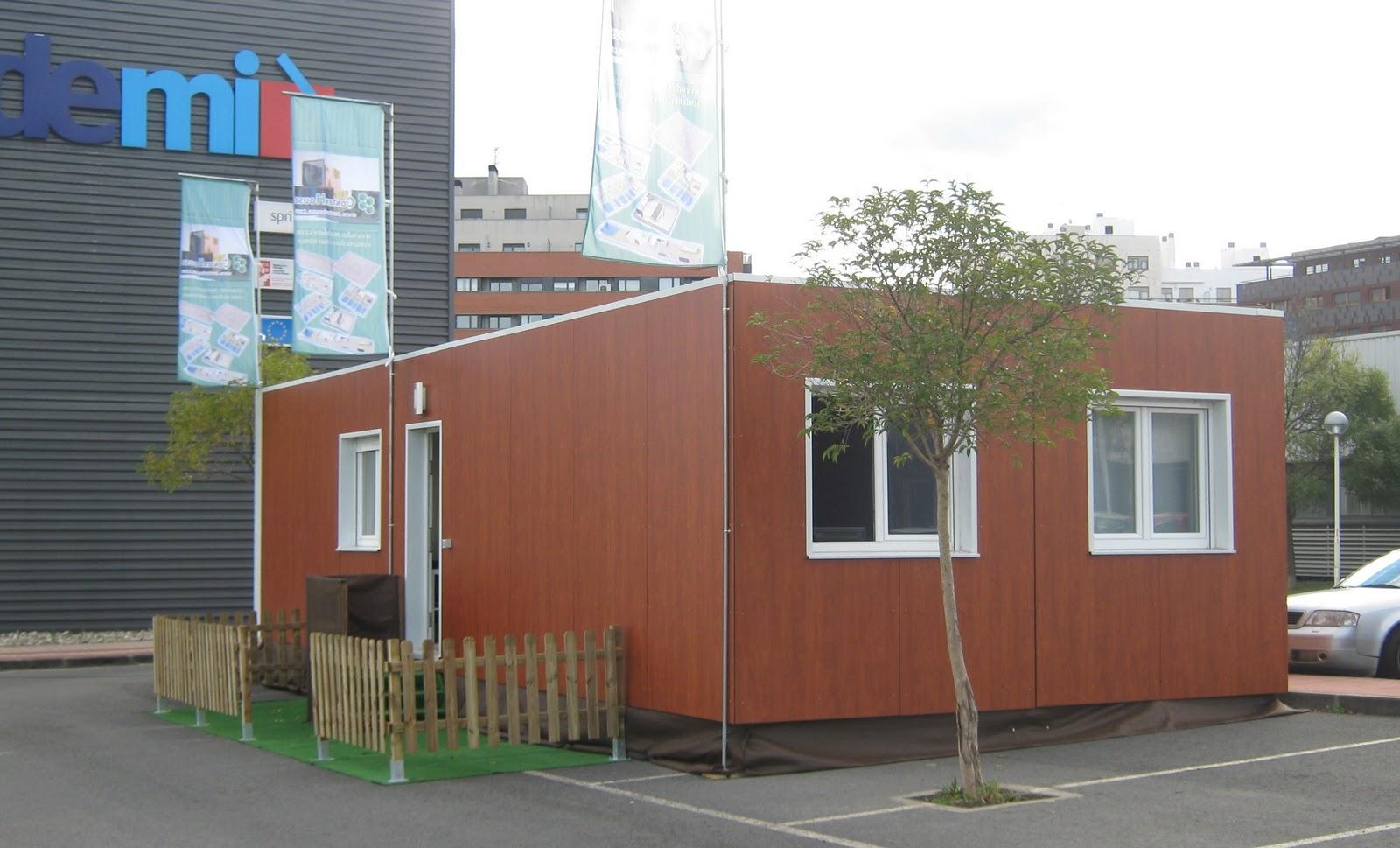 Barakaldo digital una empresa muestra en el cedemi las viviendas que construye a partir de - Contenedores vivienda ...