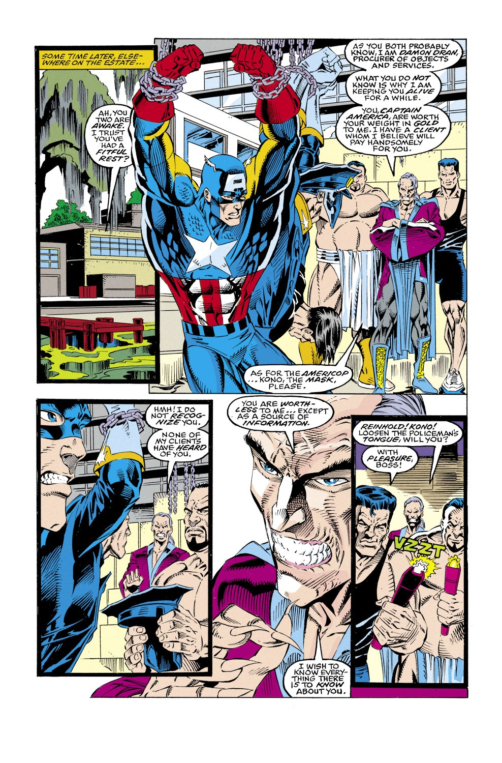 Captain America (1968) Issue #430 #380 - English 9