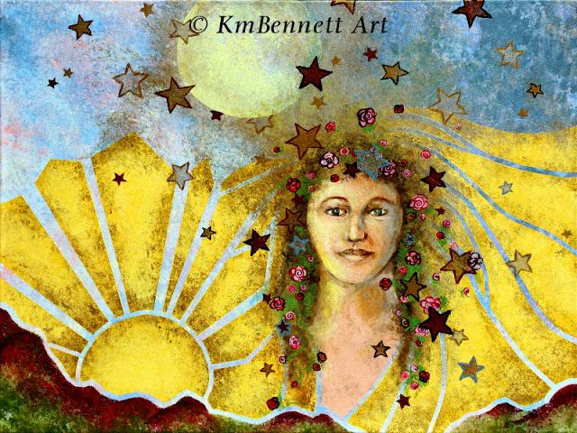 Celestia painting KmBennettArt