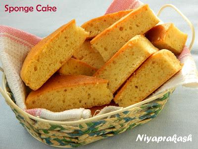 Sponge Cake Recipe In Otg
