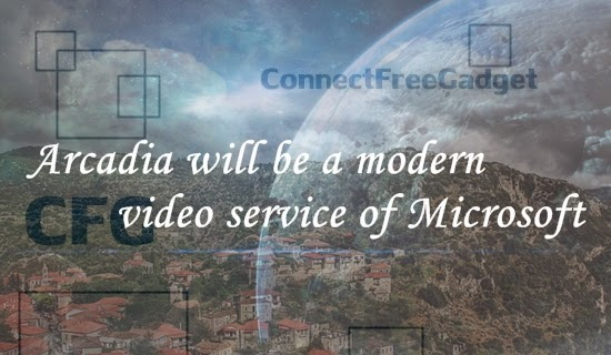 Arcadia соврменный видеосервис Microsoft