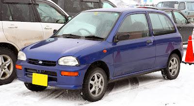 Subaru Vivio. Subaru SVX punto es