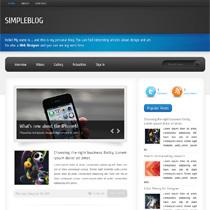 simpleblog template