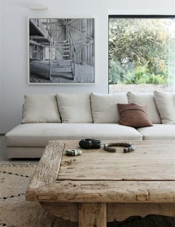 Conseils d co et relooking maison contemporaine d cor champ tre naturel dans - Maison style campagnard ...